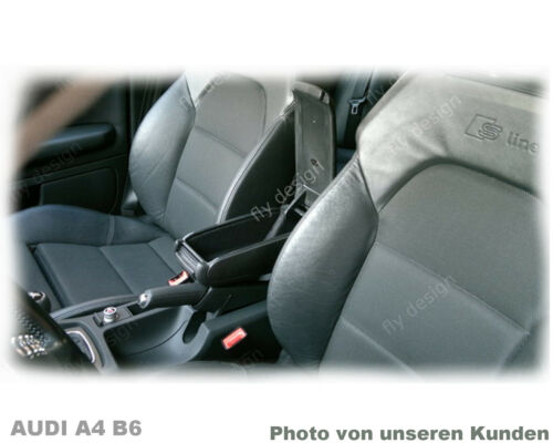 El reposabrazos central apoyabrazos Ford Focus 04 2004-2011 Armrest accoudoir negro de tela