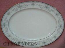 "NORITAKE china COLBURN 6107 pattern Oval Serving Platter - 16-1/8"" - No Handles"