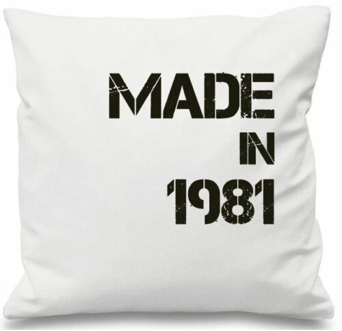 Luxury Personalised Cushion Cover Gift Made In Personal Date Family Birthday