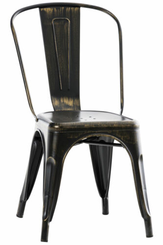 Stuhl Benedikt V2 Metallstuhl Stapelbar Esszimmerstuhl Stapelstuhl Küchenstuhl