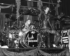 PERRY FARRELL PHOTO STEPHEN PERKINS DRUMS JANES ADDICTION by Marty Temme