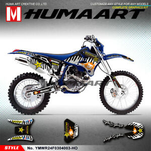 Dirt-Bike-Sticker-Vinyl-Decal-Kit-for-Yamaha-WR250F-WR450F-2003-2004-MX-Graphics