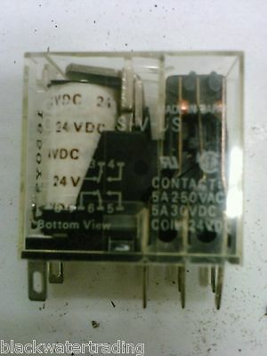 3 New Omron My2-24VDC MY2 Relays Free USA S/&H