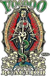 Voodoo-Reaction-Sticker-Decal-Artist-Vince-Ray-VR44-New
