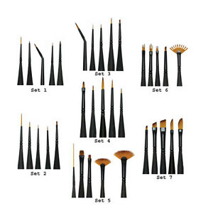 Royal and Langnickel Miniature Micro Detail Paint Brush Sets eBay