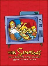 Brand New DVD The Simpsons - The Complete Fifth Season collector's edition 1993