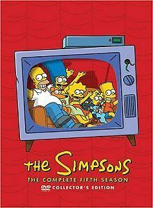 Brand-New-DVD-The-Simpsons-The-Complete-Fifth-Season-collector-039-s-edition-1993