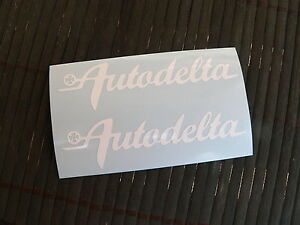 OFFERTA-Kit-2-adesivi-Autodelta-Alfa-Romeo-quadrifoglio-sticker-decal-auto-car