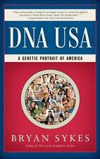 DNA USA : A Genetic Portrait of America by Bryan Sykes Paperback Book