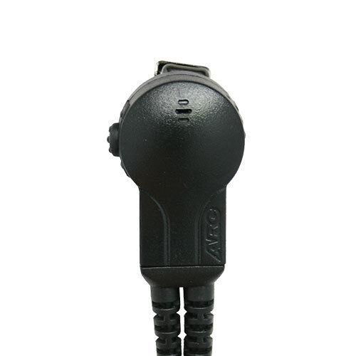 ARC G32035 Earhook Headset Earpiece Lapel Mic Motorola HT1250 HT750 HT1550 Radio