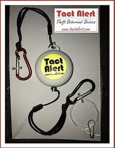Image is loading Tact-Alert-Trip-Wire-Style-alarm-system-Shed- & Tact Alert Trip Wire Style alarm system! Shed Alarm Camping Alarm ...