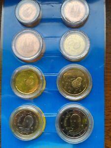 espagne 2011 série 8 pièces neuves sous capsules
