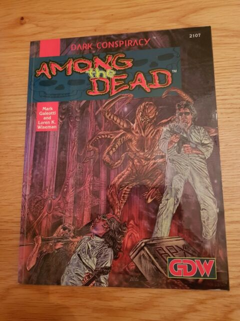 Among The Dead - Dark Conspiracy Roleplaying GDW RPG Horror Roleplay OOP