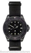 MWC 24 gioiello 300m (Sterile) | BLACK PVD in Acciaio | Auto | Submariners/Divers Orologio