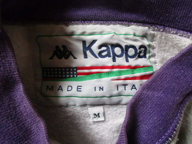 Felpa Felpa Felpa annata una années 80 Kappa Grigio Taglia M 28d5f0