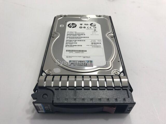 769550-B21 -  HPE 3TB 7.2K 6G SAS 3.5in DP MDL Hard Drive 769771-001 !New!