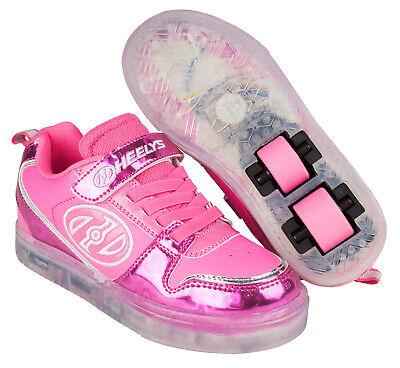 Girls Kids Heelys Boom X2 Light Up