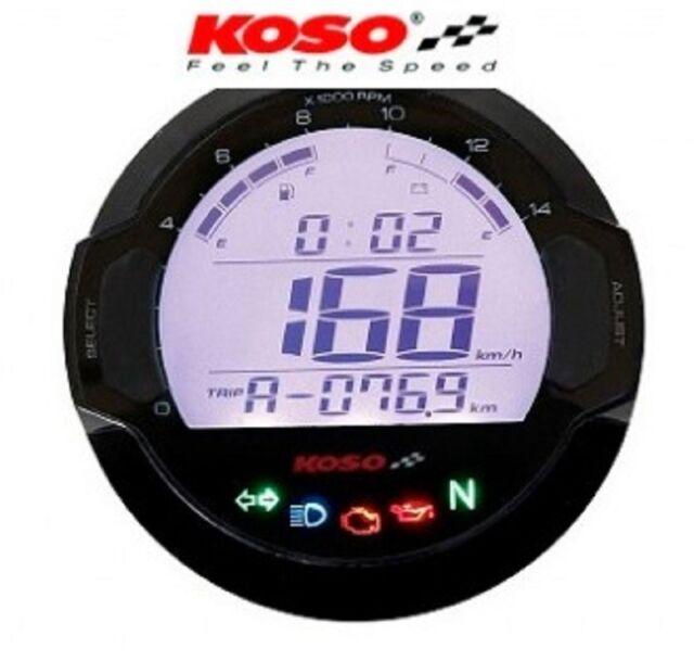 Koso Tacho Kombiinstrument Motorrad Roller Vespa Quad D64 Dl 03sr