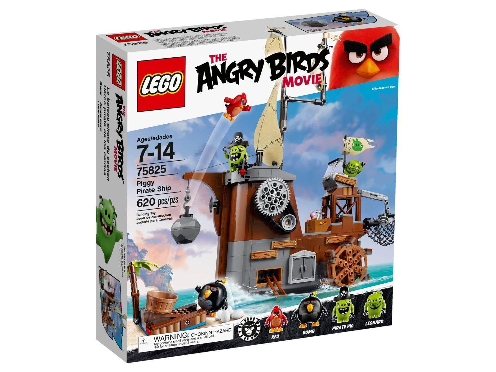 LEGO® Angry Birds™ 75825 Piggy Pirate Ship - NEU & OVP -
