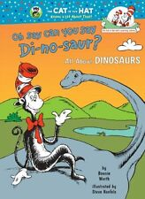 Cat in the Hat's Learning Library: Oh, Say Can You Say Di-No-Saur? by Bonnie Worth (1999, Hardcover)