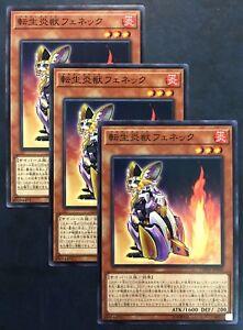4x Salamangreat Fennec DANE-EN003 Common 1st Edition NM Dark Neostorm