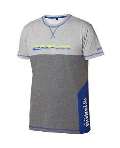 Official Yamaha Racing MX Ipswich Grey Men's T-Shirt