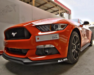 ford mustang flexible front spoiler 2015 2016 2017 2018 s550