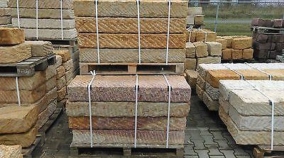 ansehen! Sandstein-Blockstufe 120 x 35 x 15 cm Sansteintreppe