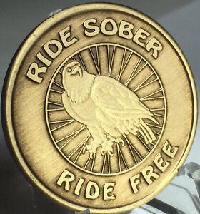 Serenity Prayer Lake Medallion Recovery AA NA Alcoholics Anonymous Chip Bronze