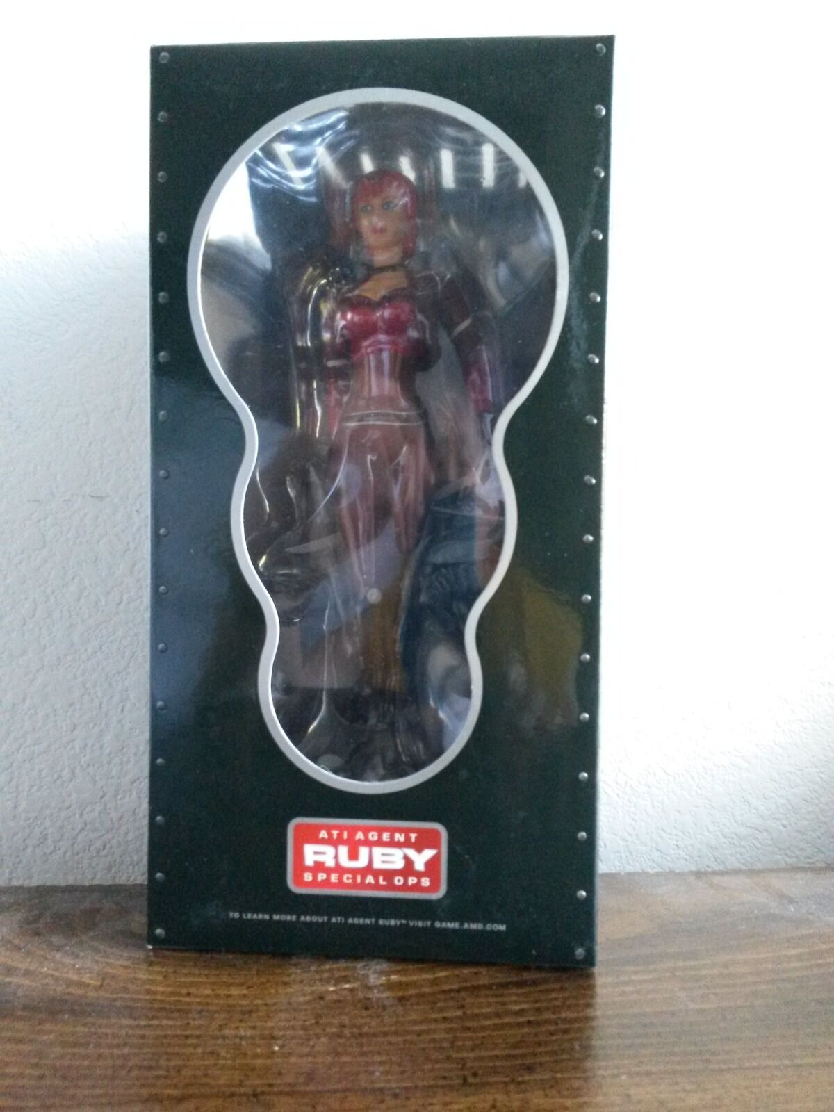 Brand New AMD ATI Agent Ruby Special Ops Collector's Figure Item