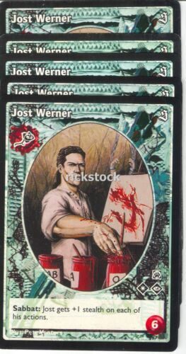 Jost Werner x5 Toreador antitribu SE VTES Jyhad