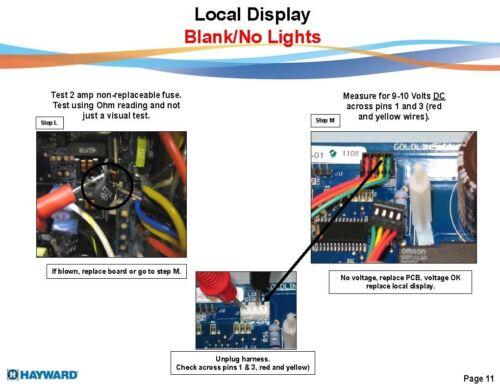 Aqua-Logic GLX-PCB-Pro System Board Goldline Repair Your Hayward
