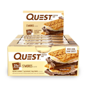Quest Nutrition Quest Protein Bar S'mores 12 bars