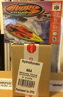 Hydro Thunder (nintendo 64, 2000) Brand Factory Sealed Case Of Six Games