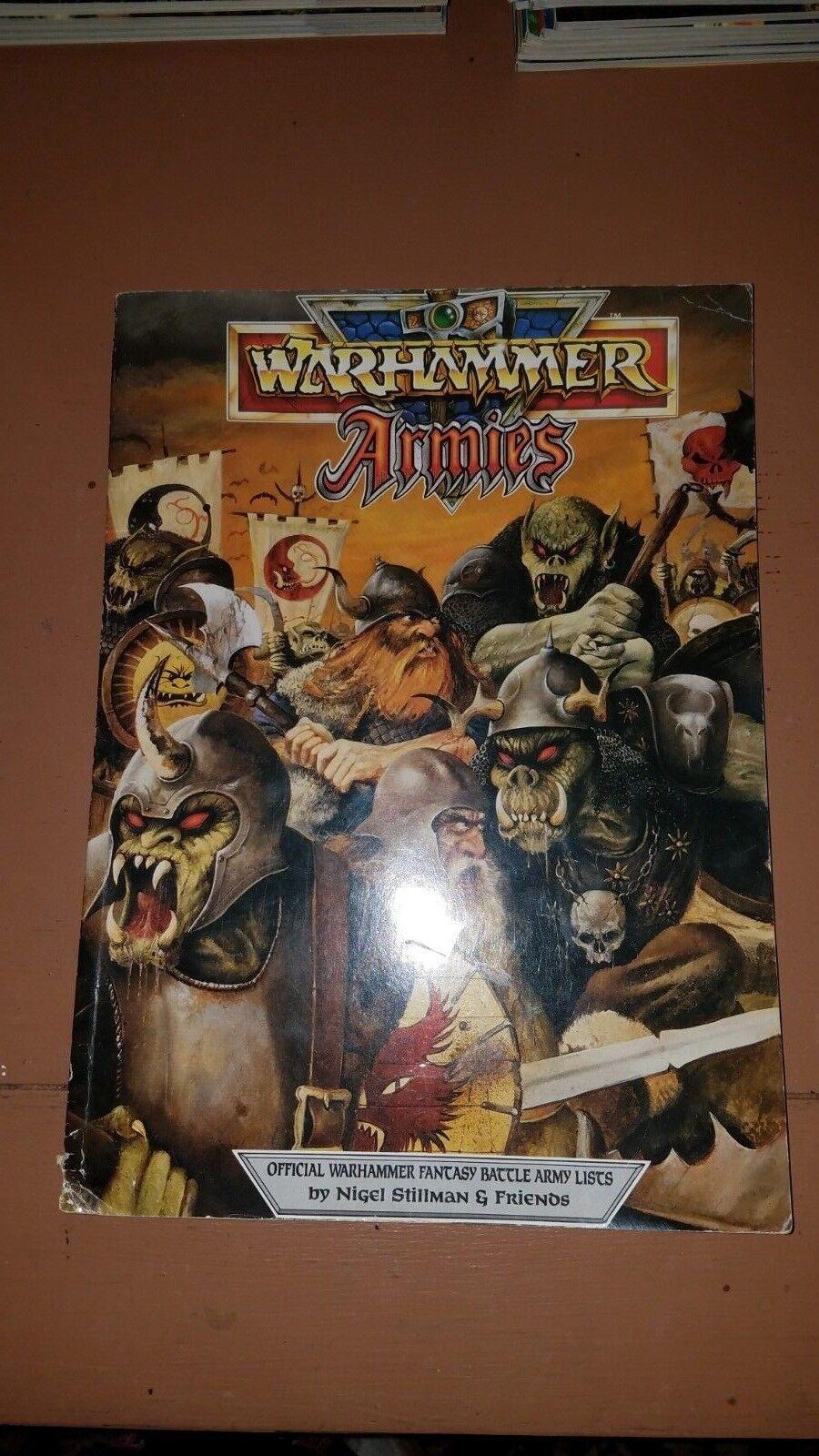 Games Workshop  3E Warhammer Fantasy Battles Softcover - WARHAMMER ARMIES