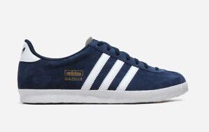 Details about Adidas gazelle og trainers q21600 dark indigo new in the box uk 12.5 us 13 show original title