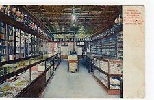 SNITEMAN DRUG STORE, NEILLSVILLE: Wisconsin USA postcard (C5387).