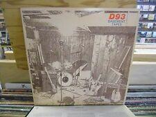 D93 Basement Tapes vinyl LP 1980 private press EX [Dubuque Iowa]