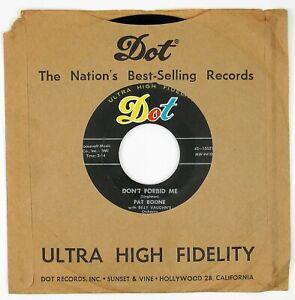 PAT-BOONE-Don-039-t-Forbid-Me-Anastasia-7IN-1956-POP-VOCAL-NM