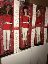 BARBIE BASICS COLLECTION RED 2.0 DENIM TARGET EXCLUSIVE MIB-NRFB 3 DOLLS