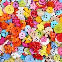 Mixed Buttons Lot Sewing Buttons Lot Craft Buttons Assorted Buttons 100 Pcs