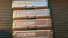 1GB 4 x 256MB Samsung RDRAM Rambus Rimm PC1066-32 1066-32P 4 Dell 8250 8200 8100