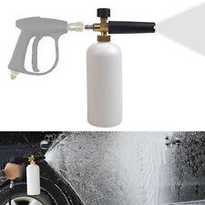 Adjustable Snow Foam Lance Washer Car Wash Gun Soap Pressure Washer Bottle 1L