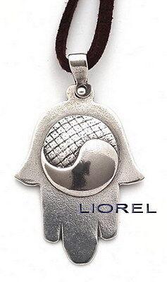 Yin Yang symbol hand blown glass custom necklace pendant