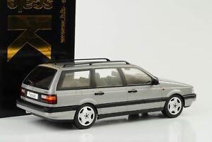 1988-Volkswagen-VW-Passat-B3-VR6-Variante-Grey-Metallic-1-18-Kk