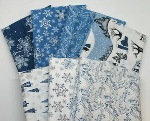 Free-Spirit-Mid-Century-HYB1053-Cotton-Fabric-Half-Yard-Bundle