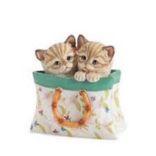 LENOX A TOTE FOR TWO KITTENS NIB//COA
