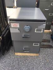 Diebold File Safe Storage Withx 09 Lock Heavy Steel Safe