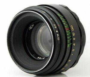 MINT-Virtually-NEW-HELIOS-44-2-Lens-Micro-M-4-3-MFT-Mount-Olympus-Lumix-2-cap