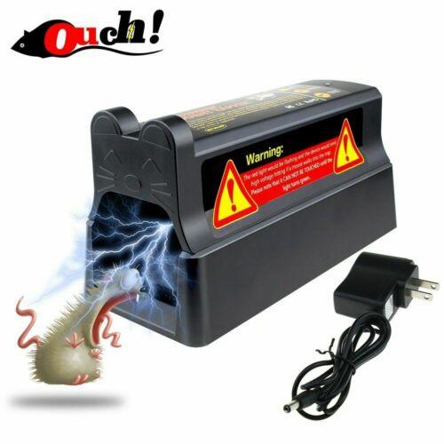 Electronic mousetrap Control Rat Killer Pest Mice Electric Rodent Zapper US plug
